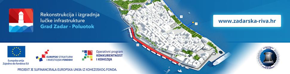 Rekonstrukcija i izgradnja lučke infrastrukture Grad Zadar - Poluotok